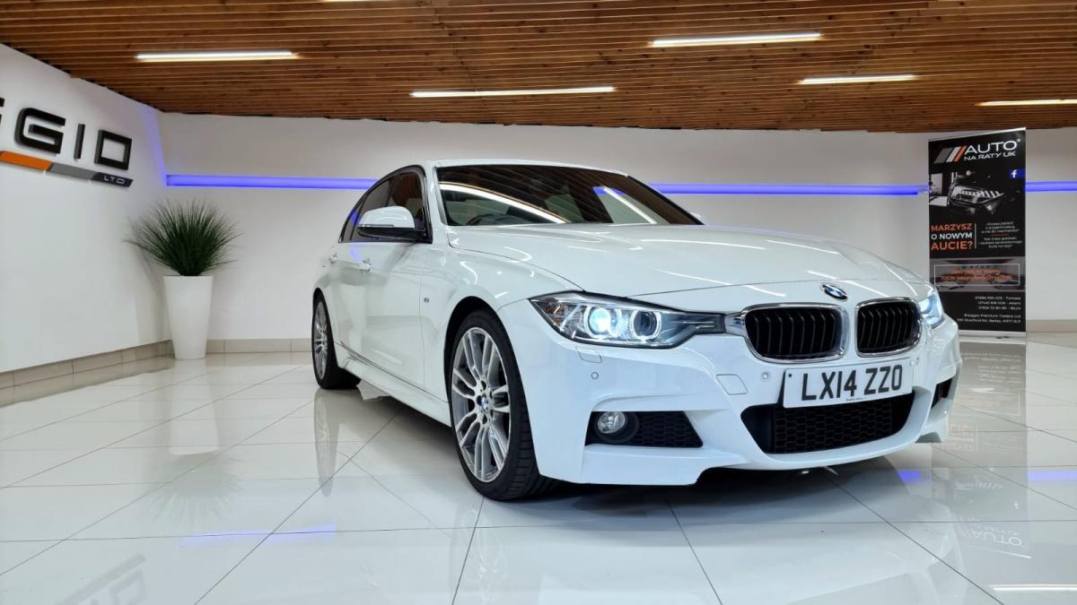 2014 BMW 320D M SPORT SEMI AUTO 184 HP