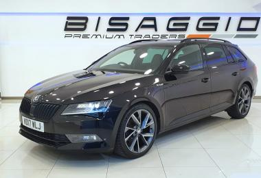 2017 SKODA SUPERB 2.0 TDI SPORTLINE MANUAL 150BHP