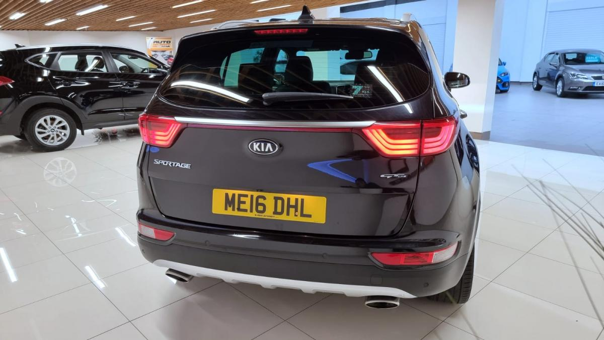 2016 KIA SPORTAGE 2.0 CRDI GT-LINE 4x4 AUTO 136 HP - 2016 - £13,695