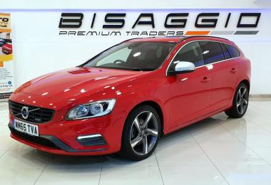 2016 VOLVO V60 1.6 D2 R DESIGN NAV MANUAL 115 HP