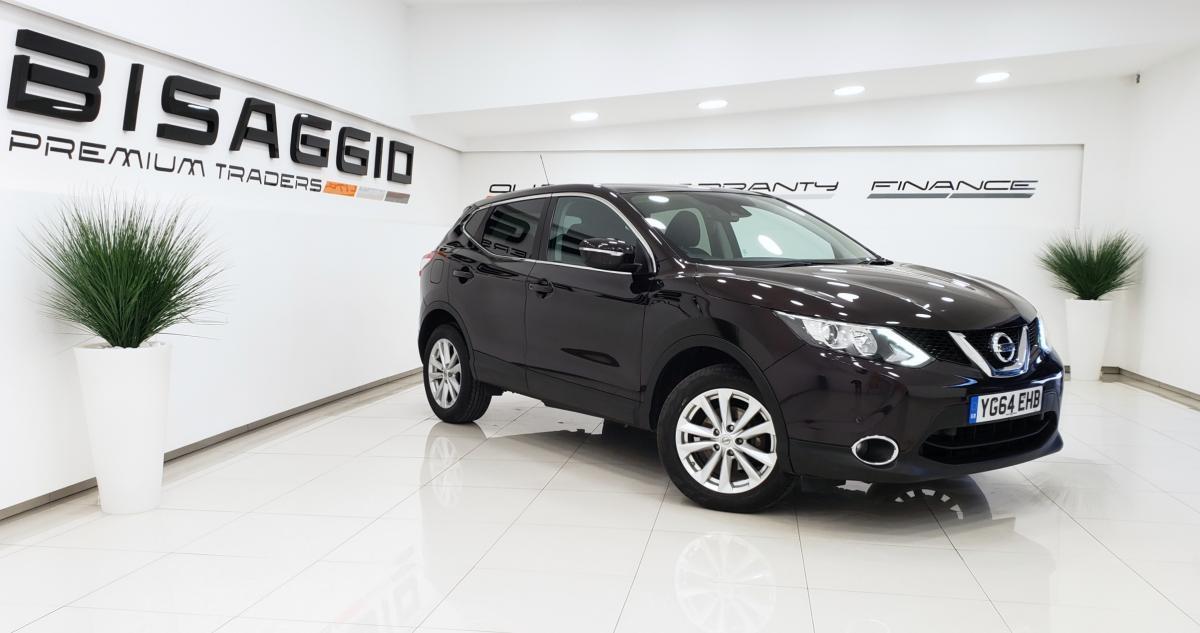 Nissan Qashqai Dci Acenta Premium 5 door hatchback