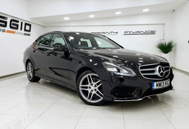 Mercedes-benz E-class E220 Cdi Amg Sport 4 door saloon