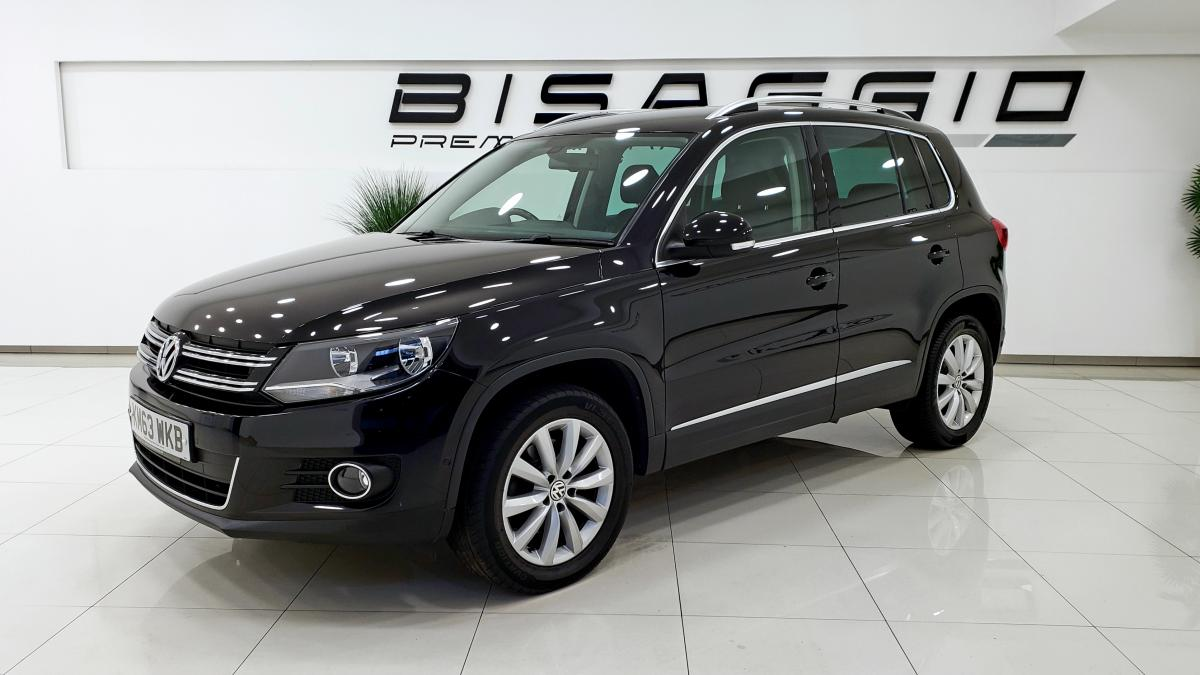 Volkswagen Tiguan Match Tdi Bluemotion Technology 4motion estate - 2013 - £10,795