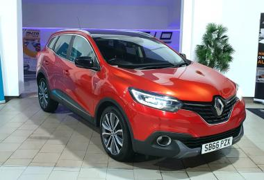 2016 RENAULT KADJAR 1.6 DCI SIGNATURE NAV 4X4 MANUAL 132 HP
